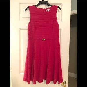Worn once. Pretty pink Jennifer Lopez dress
